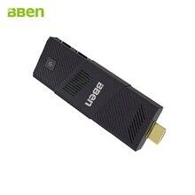 Bben Windows 10 или Ubuntu OS четырехъядерных процессоров intel Cherry Trail z8350 2/4 ГБ DDR3 RAM 32/ 64 ГБ EMMC ROM HDMI WI-FI мини-компьютер PC stick