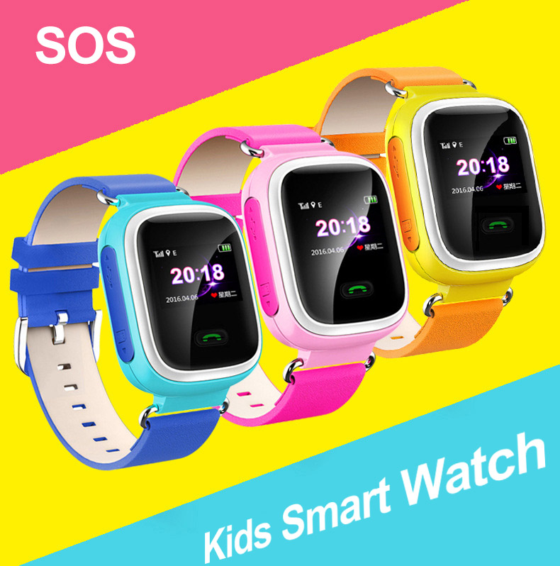 2017 Q60 Kid LBS Smart Watch Wristwatch SOS Call Location Finder Locator Device Tracker for Kid