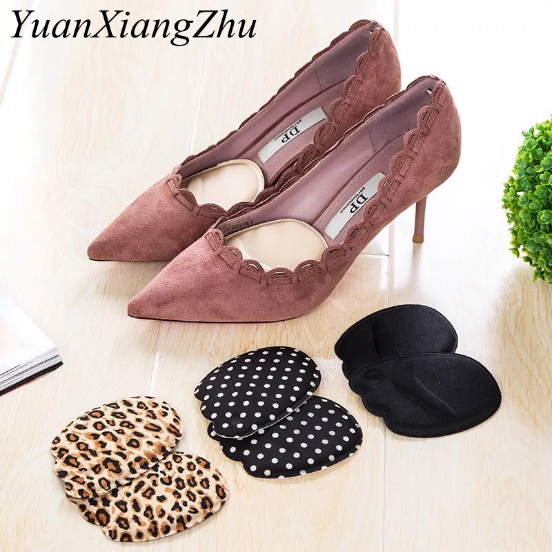 1Pair Soft High Heels Half Yard Mat Arch Only Eat Orthopedic Insert Insole Foot Forefoot Protection Pad Women