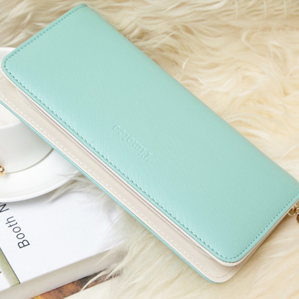 Women's Purse 2020 Women Wallets Long Bifold Leather Wallet Women Card Holder Wallets carteras mujer Ladies Purse sacoche homme