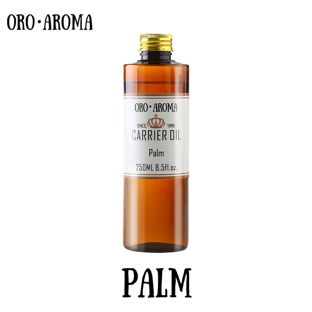 Famous brand oroaroma Palm oil natural aromatherapy highcapacity skin body care massage spa base carrier Palm essential oil