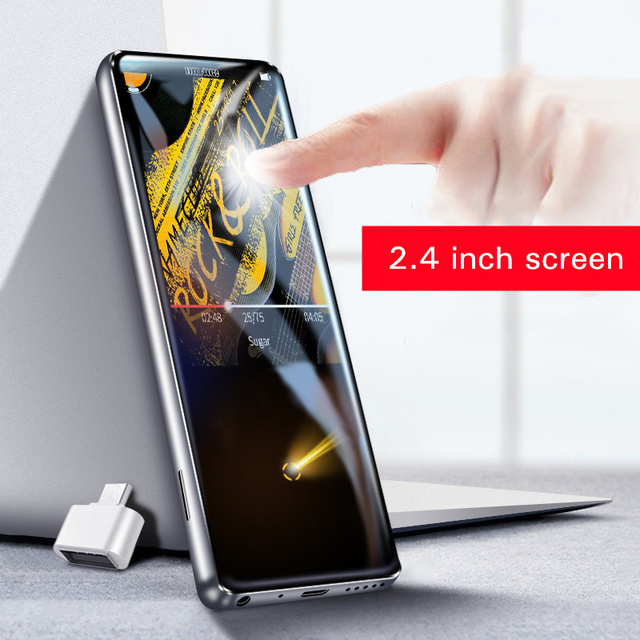 מהדי M600 MP3 נגן bluetooth HiFi 2.4 אינץ וידאו נגן אלחוטי נייד ספורט MP3 8 GB מובנה רמקול FM רדיו