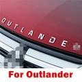 AUTO ZUBEHÖR Edelstahl für Outlander Wort 3D Brief auto Aufkleber Trim Für Mitsubishi Outlander 2013 2014 2015 2016 +-in Autoaufkleber aus Kraftfahrzeuge und Motorräder bei
