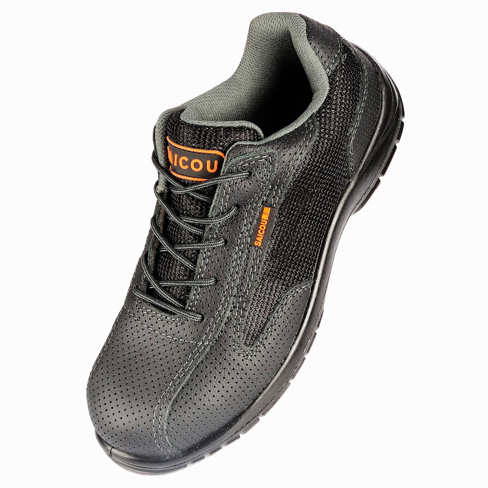Work Shoe For Men Protective Toe