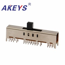 SS-48D01 4P8T Four pole eight throw 8 position slide switch 32 pin DIP type with 4 fixed pin handle heights can be customized osc dip 4 32 768m 32 768mhz