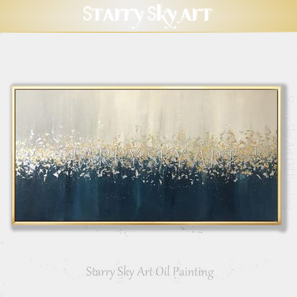 Beautiful Wall Art Handmade High Quality Contemporary Abstract Canvas Painting Fine Oil