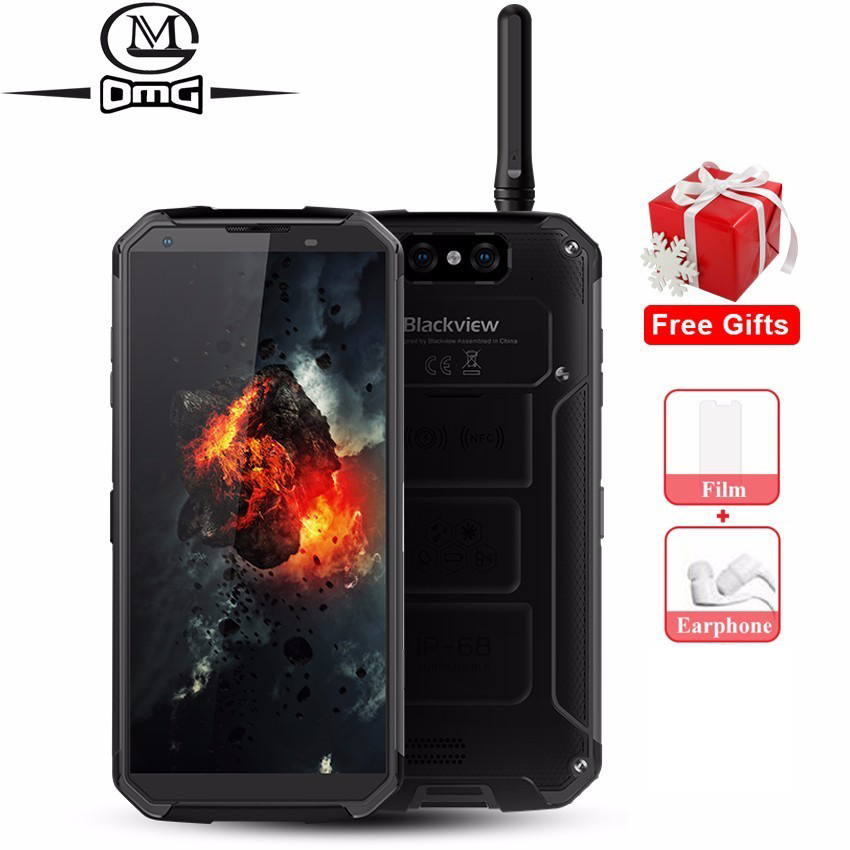 <font><b>Blackview</b></font> BV9500 Pro Waterproof shockproof Mobile Phone Android 8.1 <font><b>10000mAh</b></font> 6GB+128GB MT6763T Octa Core FHD NFC 4G Smartphone image