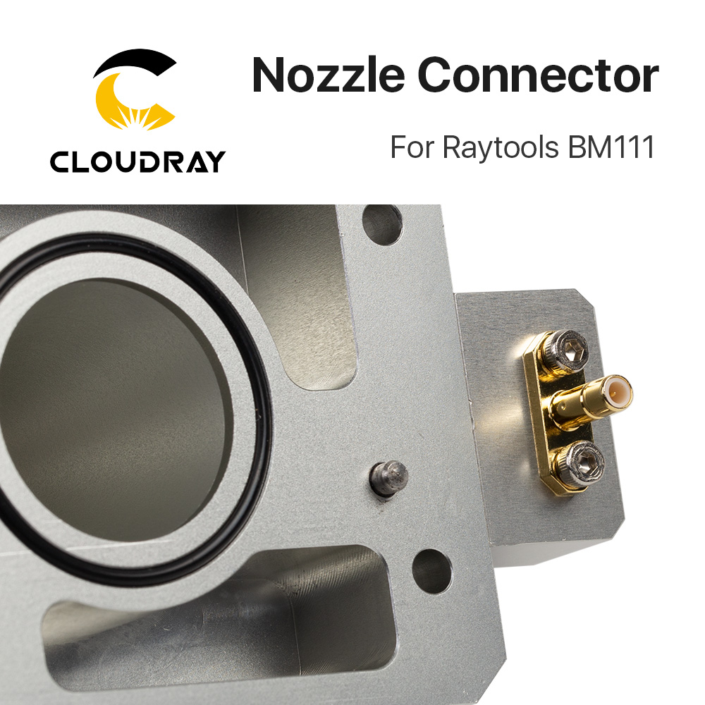 home improvement : Cloudray Nozzle Connector of Raytools Laser Head BM111 For Fiber Laser 1064nm Cutting Machine
