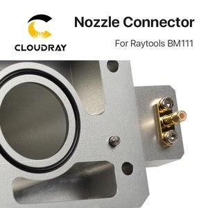 Image 4 - Cloudray ノズルコネクタ Raytools のレーザーヘッドのための BM111 レーザー 1064nm 切断機