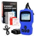 Autophix VAG007 Автомобилей Неисправности Диагностический Инструмент EOBD/OBD2 Двигатель Системы Считывания Кода Сканер Для VW/AUDI/SEAT/SKODA Все Системы Сканирования Инструмент