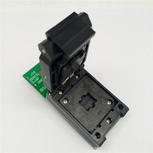 TFBGA/BGA24 à DIP8 IC adaptateur prise pour 8x6mm largeur du corps BGA puces