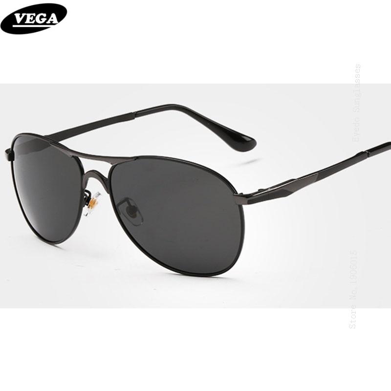 370e1384ba3 VEGA New Stylish Wrap Around Sunglasses Unisex Polarized Safety Glasses  with Box HD Vision Eyeglasses Metal