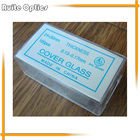 100PCS 24x50mm Microscope Slide Cover Slips Blank Glass Slides Microscope Accessories 0.13-0.17mm Thickness