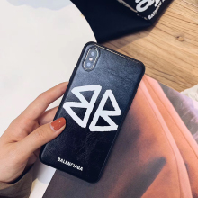 Balenciaga BB Phone Case iPhone 6S 7 8 Plus X 10 XR XS Max