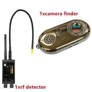1-12GHz Professional GPS/Anti-Spy Bug Hidden Camera RF Detector&Spy Camera finder(GOLD)