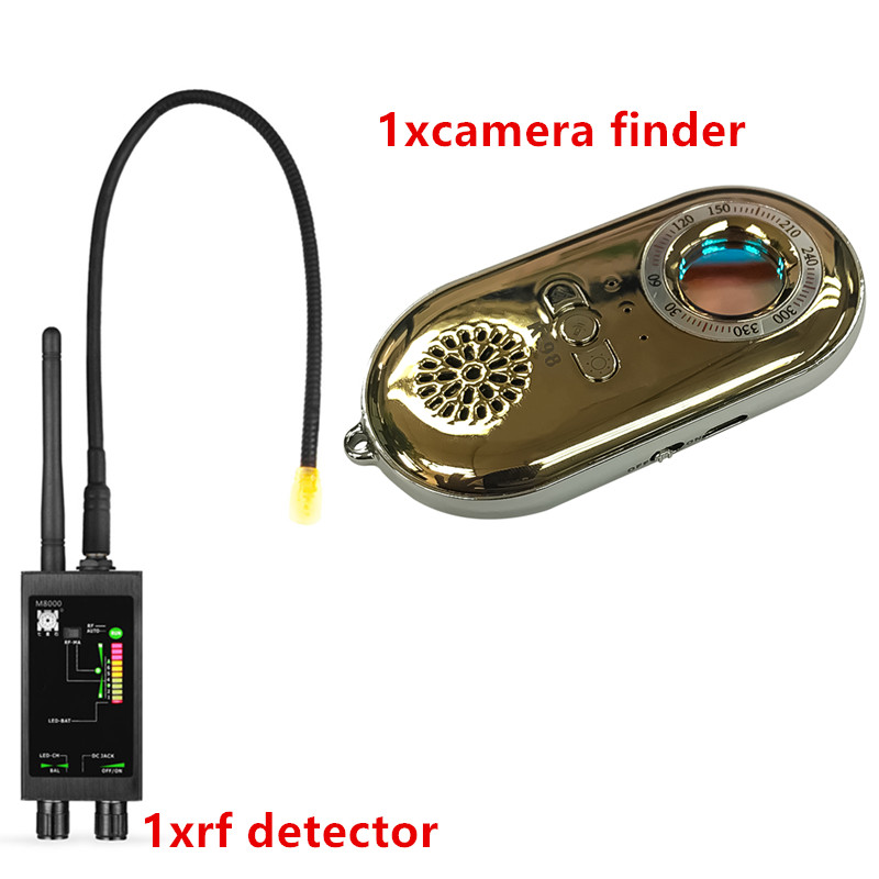 1 12GHz Professional GPS/Anti Spy Bug Hidden Camera RF Detector&Spy Camera finder(GOLD)-in Anti Candid Camera Detector from Security & Protection    1