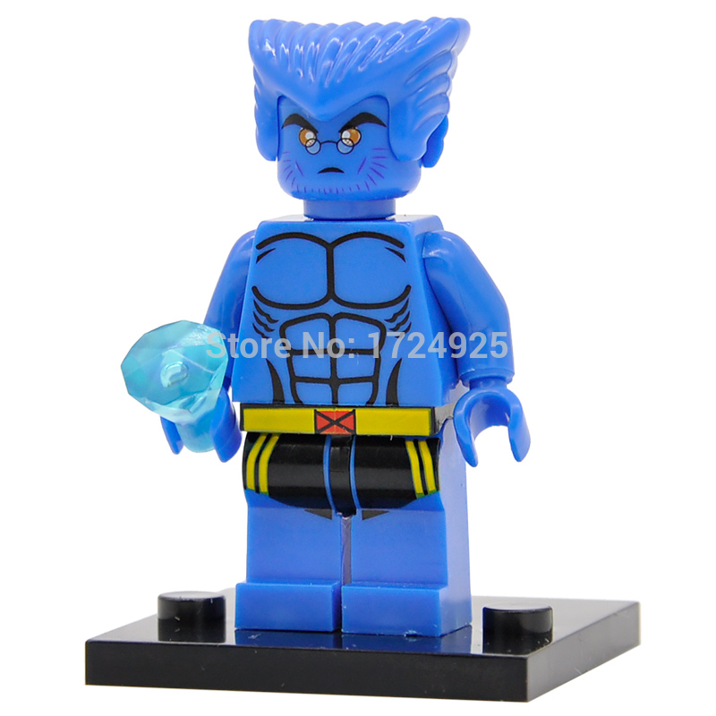 Marvel X-Men Beast Figure Super Hero Building Blocks Single Sale Superhero Illuminati Sets Model XH364 Toys For Children