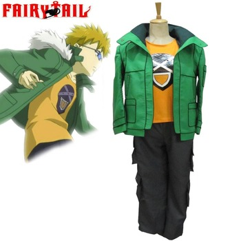 High-Q Unisex Anime Cos Fairy Tail Leo Cosplay Costumes