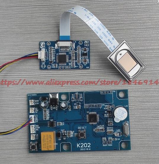 Fingerprint Lock Circuit Board Fingerprint Module Control Panel Fingerprint Access Controller