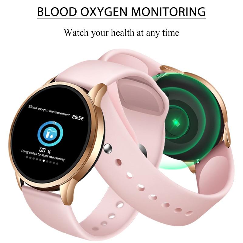 LIGE New Smart Bracelet Women Heart Rate Blood Pressure Monitor Sport Smart Wristband Pedometer fitness tracker Smart Watch Men