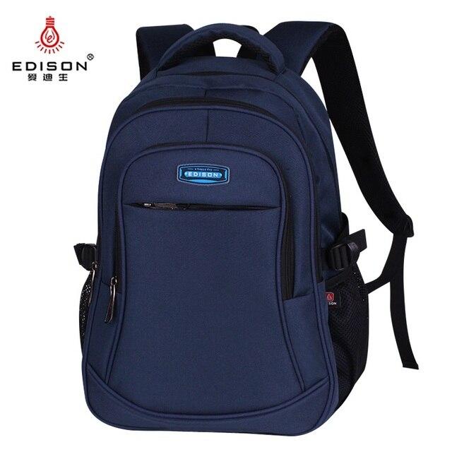 Edison plecak męski plecaki dla nastolatków Mochila ulepszony lekki oddychający plecak żeński wodoodporne plecaki o dużej pojemności