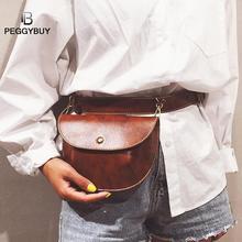 Multi-use Women Leather Belt Bag Phone Pouch Fanny Pack Waist Handbags Shoulder Crossbody