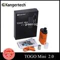 Kanger original togo mini 2.0 kit 1.9 ml tanque 1600 mah batería 4.0 kit 3.8 ml atomizador con bobina clocc cabeza de los cigarrillos electrónicos