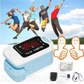 CMS50M  LED Finger Pulse Oximeter,Blood Oxygen Monitor,Sky blue,SPO2,PR Monitor,Promotion