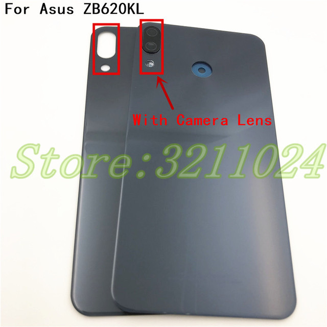 on sale d8ced 72a81 US $11.76 5% OFF|Aliexpress.com : Buy For Asus Zenfone 5 2018 ZE620KL Back  Battery Cover Door Rear Glass Housing Case For ASUS 5z ZE620KL Battery ...