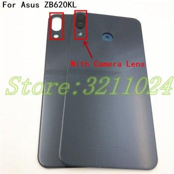 For Asus Zenfone 5 2018 ZE620KL Back Battery Cover Door Rear Glass Housing Case For ASUS 5z ZE620KL Battery Cover With Logo