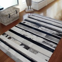 Modern Cowhide Carpet In Grey,Black,Beige,Creamy white Hot In Europe And USA
