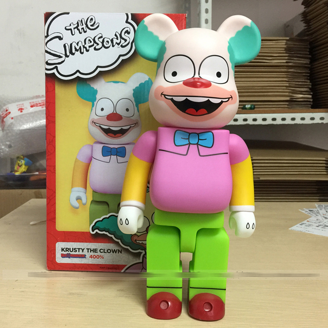 11 Inches Bearbrick 400% Be@rbrick Simpsons COS clown PVC Action Figure Collectible Model Toy