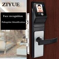Keyless электронный Smart Lock распознавания лиц ладони лицо распознавание лица замка двери код кисти замок