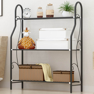 Image 3 - 3 layers Iron Outdoor Garden Plant Shelves Storage Shelf Simple Assembly Removable Bedroom Flower Pot Iron Rack for Balcony