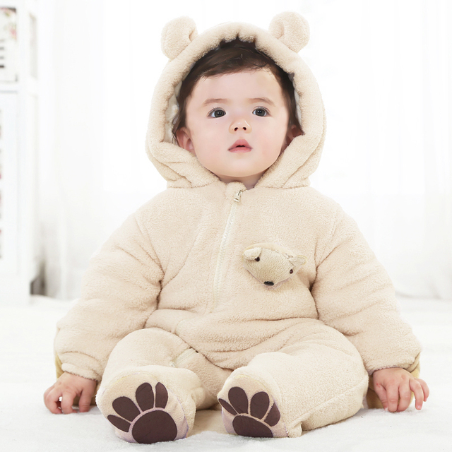 d16ed6a1b5132 Free shipping Winter baby winter 0 - 3 - 6 months old male clothes 0 - 2  years old infant children s clothing one-piece bodysuit