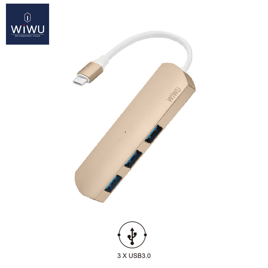 WIWU USB 3.0 Type C for MacBook Hub Thunderbolt USB 3.0 High Speed Transmission USB for MacBook Pro 2016 Adapter Card Reader USB 10pcs 14287 501 qfp new