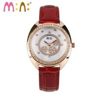 Luxury Brand Women Watches 2017 Fashion Waterproof Bracelet Ladies Quartz Wrist Watch Clock Woman Gold/Silver Relogio Feminino