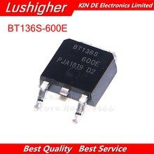 10 قطعة BT136S 600E BT136S TO252 إلى 252