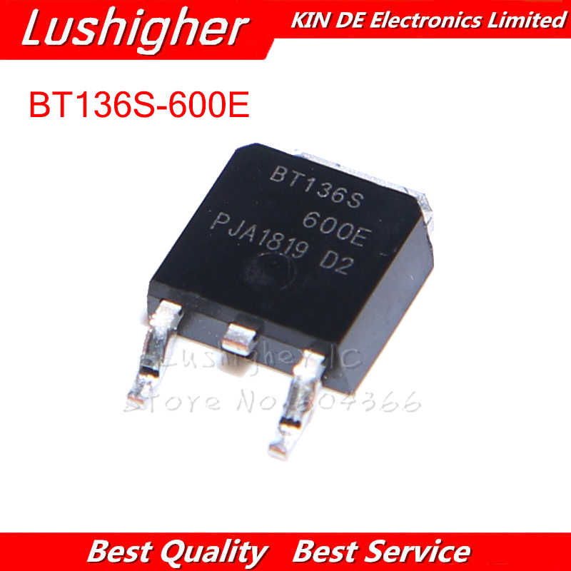 10PCS BT136S-600E BT136S TO252 TO-252