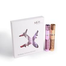 MUB - 6 pcs 5ml Portable Mini Refillable Perfume Bottle Travel Aluminum Spray Atomizer Empty Cosmetic Containers