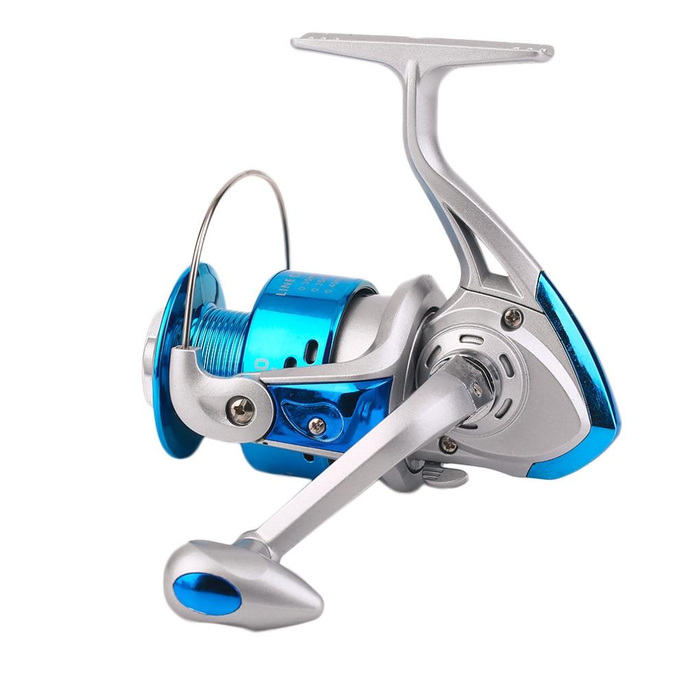 Yumoshi Plastic Head Fishing Reel Sea Rod Fishing Line Reel Plastic Plating Gear Ratio 5:5:1 Fishing Wheel