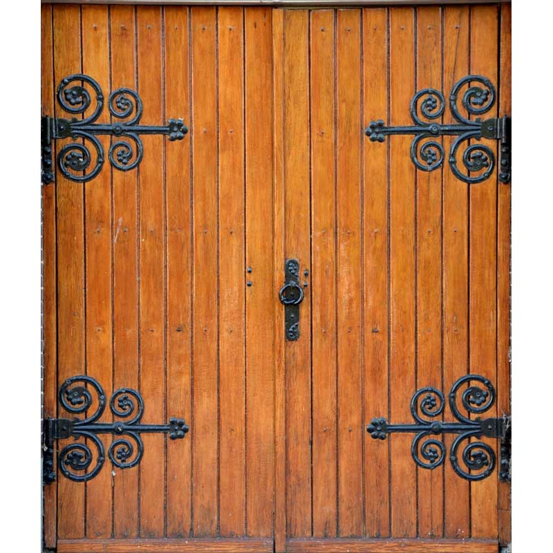 7ft washable wrinkle free old texture wood door photography backdrops for party photo studio portrait backgrounds props F 1542