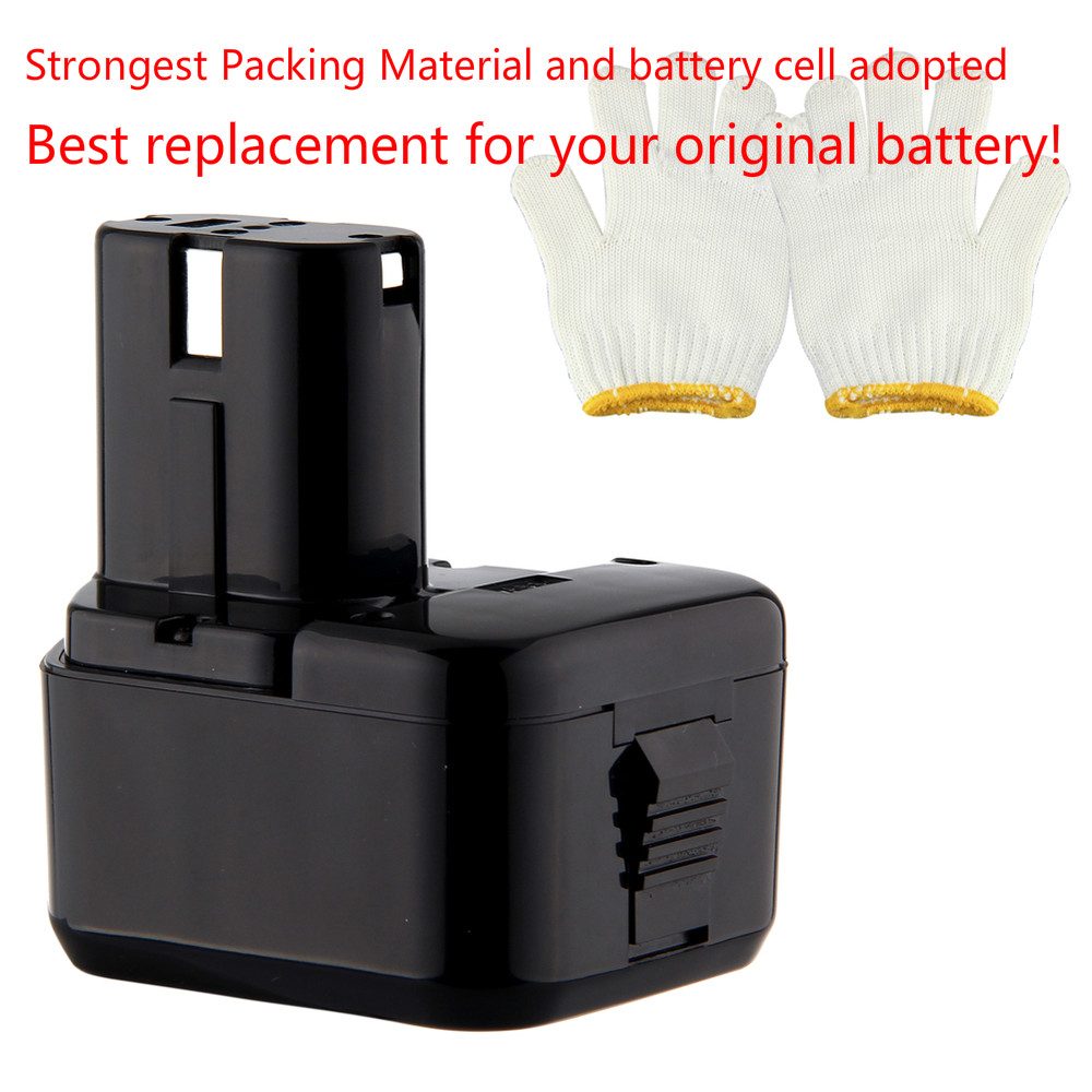 2x 12V Battery for Hitachi EB1220BL EB1214S EB1212S WR12DMR CD4D DH15DV C5D 3000mah Ni-MH waterproof 12v 4500mah ni mh replacement power tool battery for hitachi eb1212s eb1214l eb1214s free shipping