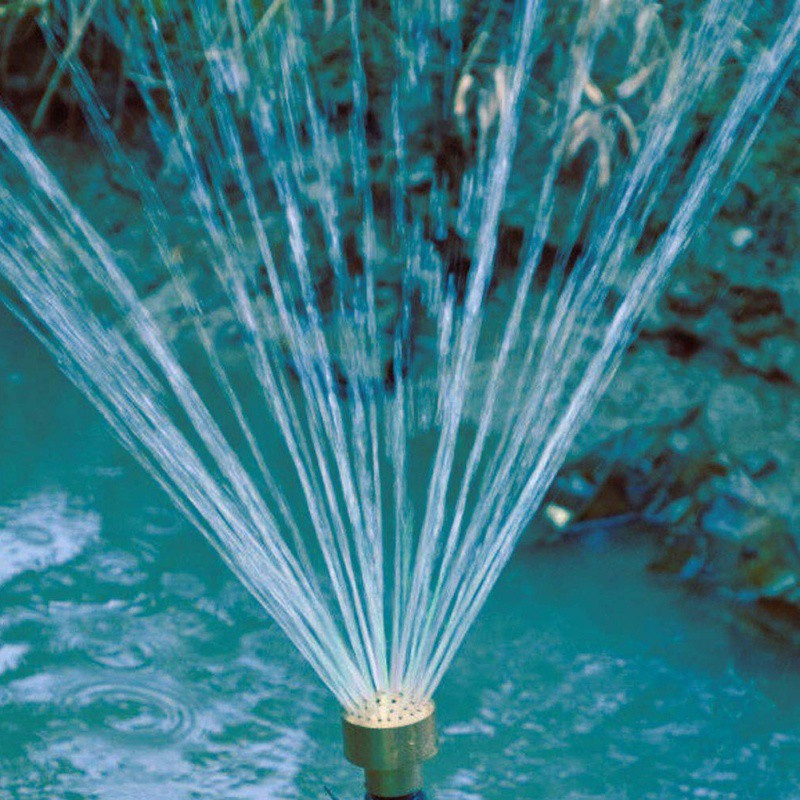 2019 Nieuwste Ontwerp Messing Kolom Vuurwerk Fontein Nozzle Sprinkler Sproeikop Vijver In Mooie Vorm Duurzaam In Gebruik