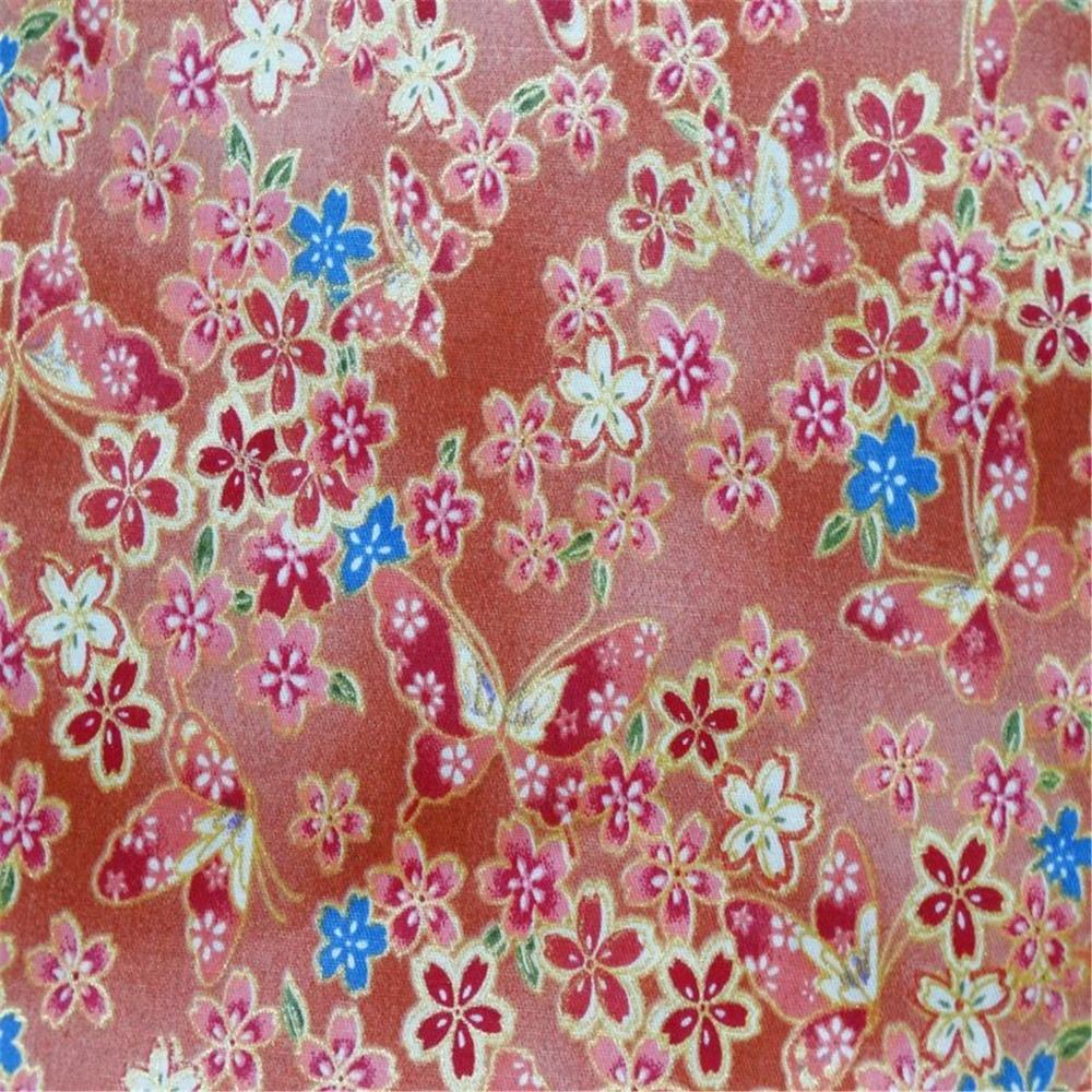 Schmetterling Blumenbaumwollgewebe Tissue Für Hand Nähen Material ...