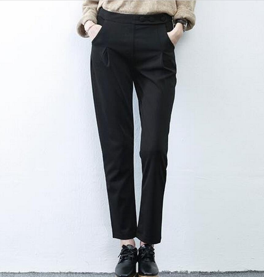 Popular Black Office Pants-Buy Cheap Black Office Pants lots from ...
