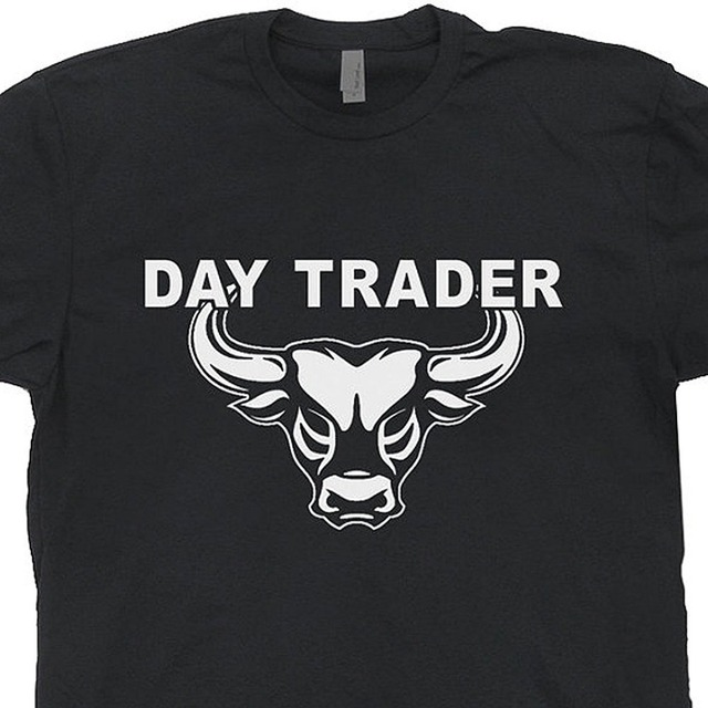 Black Wall Street Clothing novelty design t shirt men day trader t shirt wall street mad