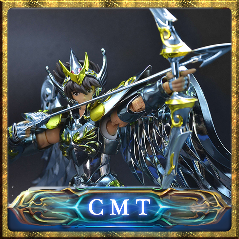 CMT In stock Great Toys GT Seiya Pegasus V4 God Cloth Bow Anime Toys Figure цена