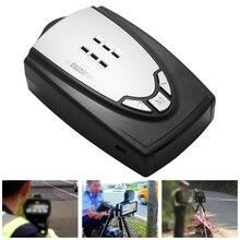 자동차 레이더 탐지기 러시아어 자동 360 학위 차량 M6 M7 속도 음성 경고 경보 경고 16 밴드 LED 디스플레이