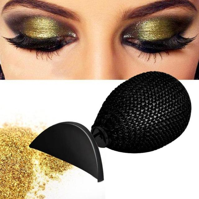 Crystal Diamond Eyeshadow Stamp Crease Lazy Eye Shadow Applicator Tool Eyeshadow Makeup Brush Cosmetic Beauty Tools